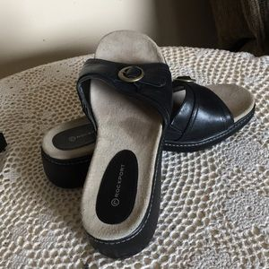 Rockport women's sz 8.5 sandals EUC leather